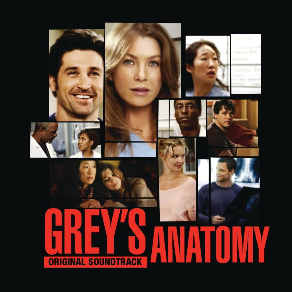 TV Soundtrack album art - Grey's Anatomy Original Soundtrack